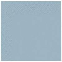 Middagsserviet, Abena Gastro-Line, 3-lags, 1/4 fold, 40x40cm, lyseblå, 100% nyfiber