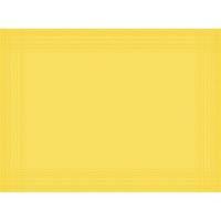 Dækkeserviet, Dunicel Maitre, 40x30cm, gul *Denne vare tages ikke retur*