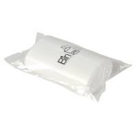 Spandepose med stjernebund, 20 l, hvid, LLDPE/virgin, 38,5x77,5cm, med tryk