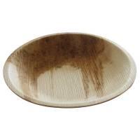 Miljøtallerken, Hampi, 3cm, Ø18cm, natur, palmeblad, komposterbar