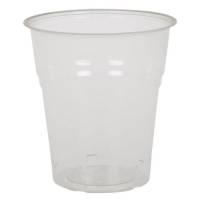 Drikkeglas, Ø7,2cm, 18 cl, 20 cl, klar, PLA, komposterbar