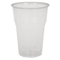Drikkeglas, Ø8,5cm, 30 cl, 40 cl, klar, PLA, komposterbar