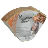 Kaffefilter, Rul-let, filterpapir, 105, oxygenbleget, ubleget