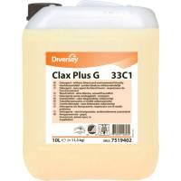 Vaskemiddel, Diversey Clax Plus G 33C1, 10 l, til kulørt og hvid, flydende