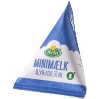 Minimælk, Arla, 0,50%, 20 ml trekant