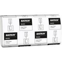Håndklædeark, Katrin Basic, 2-lags, C-fold, 33x24cm, 9 cm, natur, 100% genbrugspapir