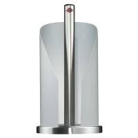 Dispenser, Wesco, 30cm, Ø15,5cm, hvid, stål, til 2 ekstra toiletruller *Denne vare tages ikke retur*