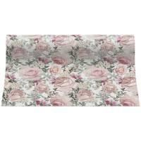 Kuvertløber, Gorgeous Roses, 2-lags, 4,8x0,33m, flerfarvet, papir, perforeret for hver 120 cm