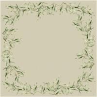 Stikdug, Dunicel, Foliage, 84x84cm, flerfarvet