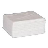 Økonomiserviet, Abena Gastro-Line, 1-lags, 1/4 fold, 33x33cm, hvid, 100% nyfiber