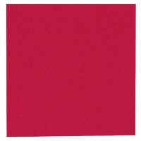 Middagsserviet, Abena Gastro-Line, 3-lags, 1/4 fold, 40x40cm, rød, 100% nyfiber