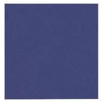 Middagsserviet, Abena Gastro-Line, 3-lags, 1/4 fold, 40x40cm, mørkeblå, 100% nyfiber