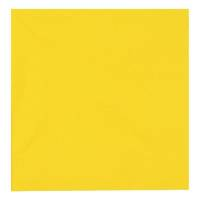 Middagsserviet, Abena Gastro-Line, 3-lags, 1/4 fold, 40x40cm, gul, 100% nyfiber