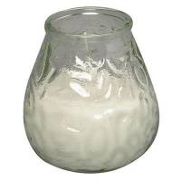 Lysbowle, Bolsius, 10,5cm, Ø9,5cm, klar, 70 timer, paraffin/glas, 100% paraffin, i glasbowle