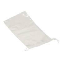 Affaldspose med snøreluk, LDPE, klar, 30 my, 100stk/pakke 15x30 cm