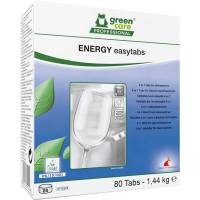 Opvasketabs, Green Care Professional Energy Easytabs, 4-iin-1, 80 stk