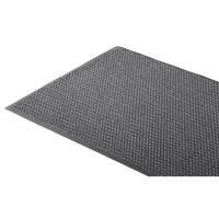 Tekstilmåtte, 3M Nomad Aqua 6500, 6500GY69, 90x60cm x 9mm, grå, PP/PA/PVC