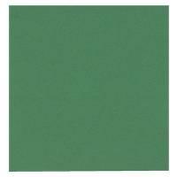Frokostserviet, Bulkysoft, 1-lags, 1/4 fold, 33x33cm, mørkegrøn, 100% nyfiber