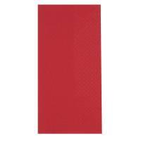 Middagsserviet, Abena Gastro-Line, 3-lags, 1/8 fold, 40x40cm, rød, 100% nyfiber