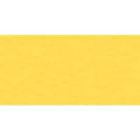 Stikdug, Polysoft, 90x90cm, gul, papir, lamineret