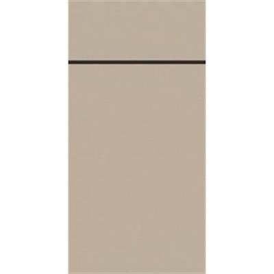 Image of   Bestikserviet, Duniletto, 1/8 fold, 48x40cm, greige *Denne vare tages ikke retur*