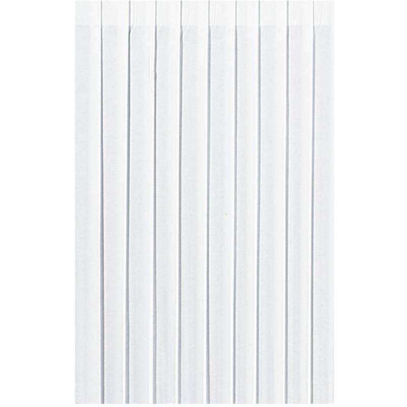 Bordskørt, Duni Evolin, 400x72cm, hvid *Denne vare tages ikke retur*
