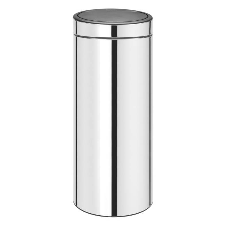 Image of   Affaldsspand, Brabantia Touch bin, 30 l, stål *Denne vare tages ikke retur*
