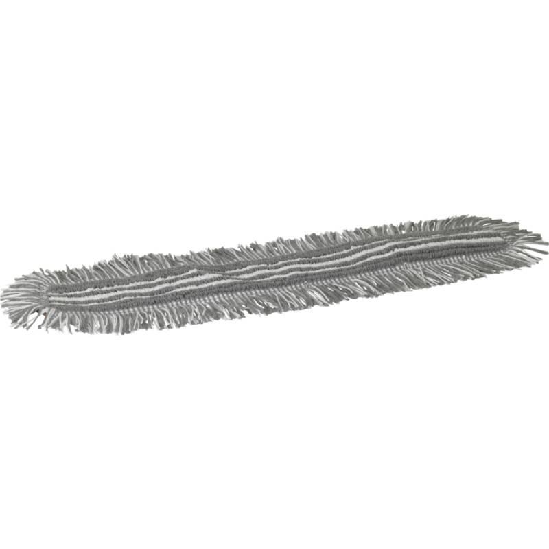 Image of   Fugtmoppe, Vikan Damp 48, grå, 60 cm, med velcro *Denne vare tages ikke retur*