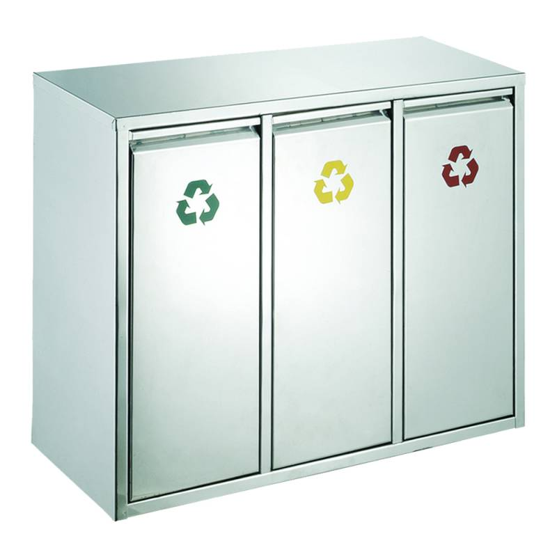 Image of   Affaldsspand, 45 l, stål mat *Denne vare tages ikke retur*