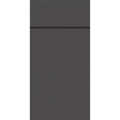 Image of   Bestikserviet, Duniletto, 1/8 fold, 48x40cm, granitgrå *Denne vare tages ikke retur*