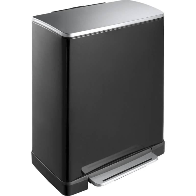 Image of   Pedalspand, EKO E-cube, 50 l, sort *Denne vare tages ikke retur*