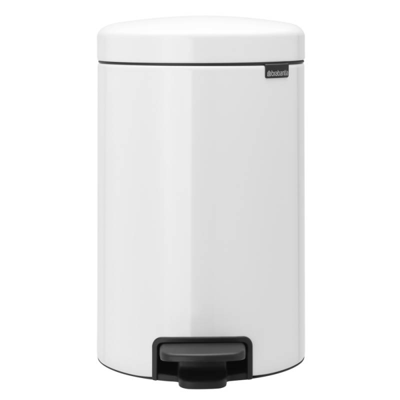 Image of   Pedalspand, Brabantia newIcon, 12 l, hvid