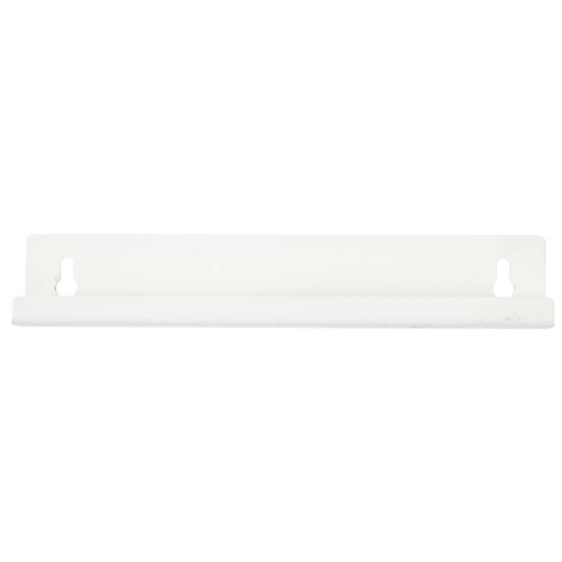 Image of   Vægbeslag, hvid, til 26 l plastspand m svinglåg