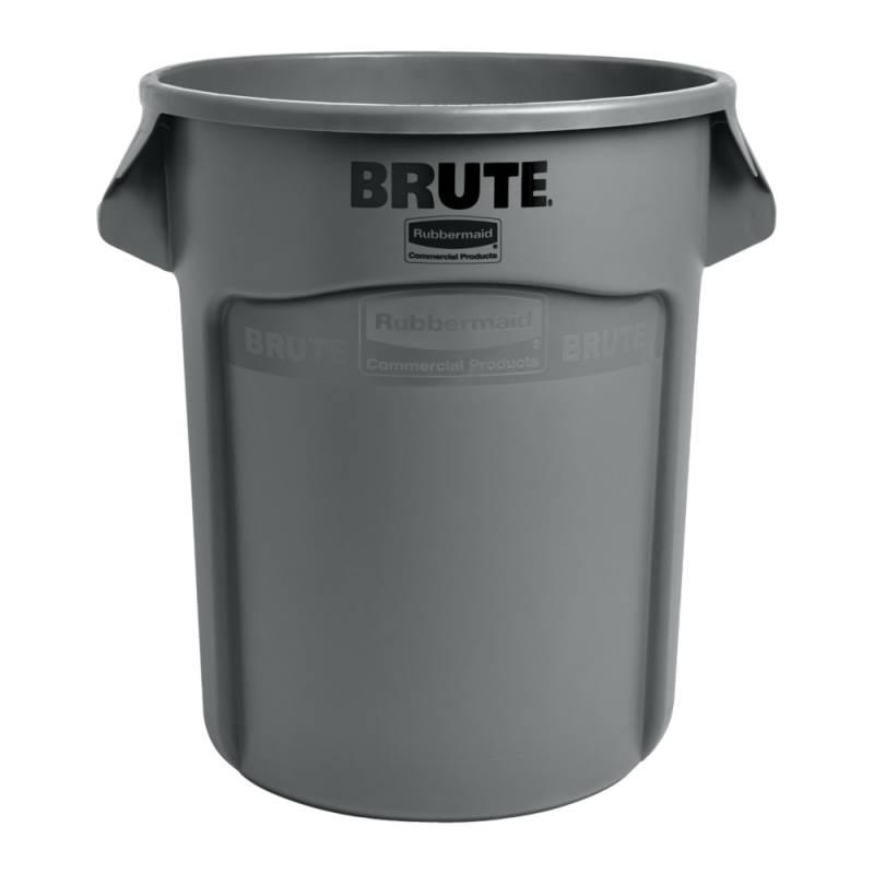 Affaldsspand, Rubbermaid Brute, 75,7 l, grå *Denne vare tages ikke retur*