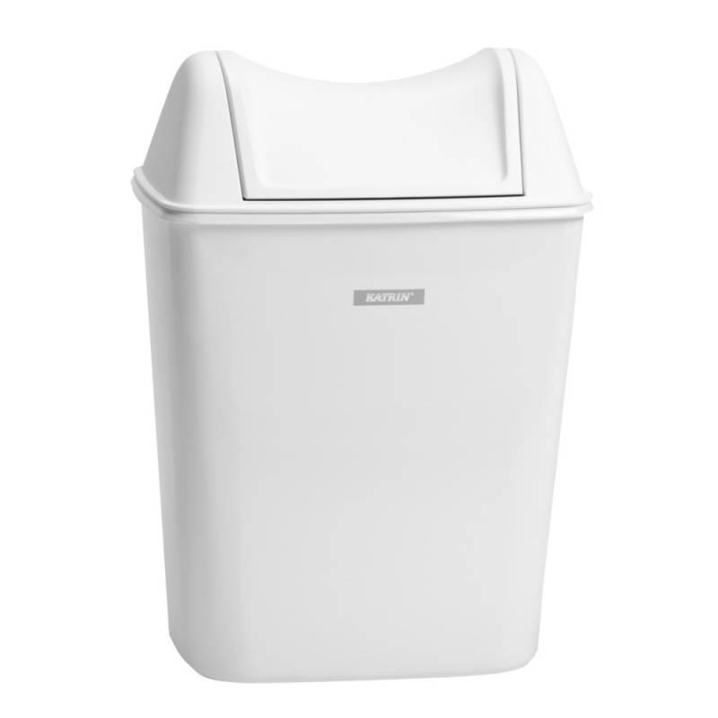 Image of   Affaldsspand, Katrin, 8 l, hvid *Denne vare tages ikke retur*