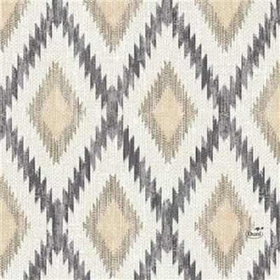 Image of   Frokostserviet, Duni Malina, 3-lags, 1/4 fold, 33x33cm, flerfarvet, papir, nature *Denne vare tages ikke retur*