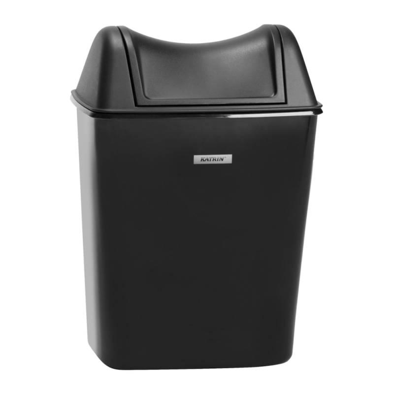 Image of   Affaldsspand, Katrin, 8 l, sort *Denne vare tages ikke retur*