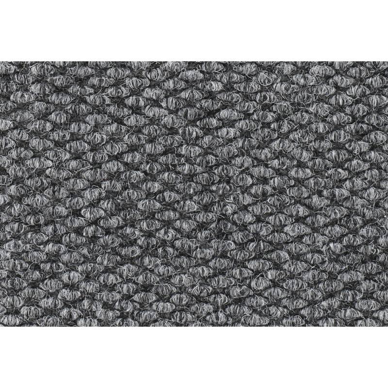 Image of   Tekstilmåtte, Mastertrax, 90x75cm, grå, gummi/nylon *Denne vare tages ikke retur*