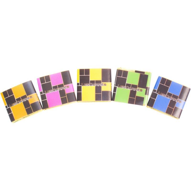Image of   Chokolade, Les Carrés *Denne vare tages ikke retur*