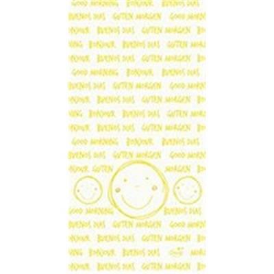 Image of   Bestikserviet, Dunisoft Be Happy, 1/8 fold, 40x20cm, gul *Denne vare tages ikke retur*
