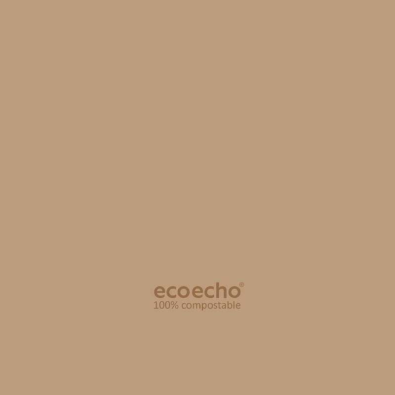 Image of   Kaffeserviet, Dunisoft, 1/4 fold, 20x20cm, brun *Denne vare tages ikke retur*