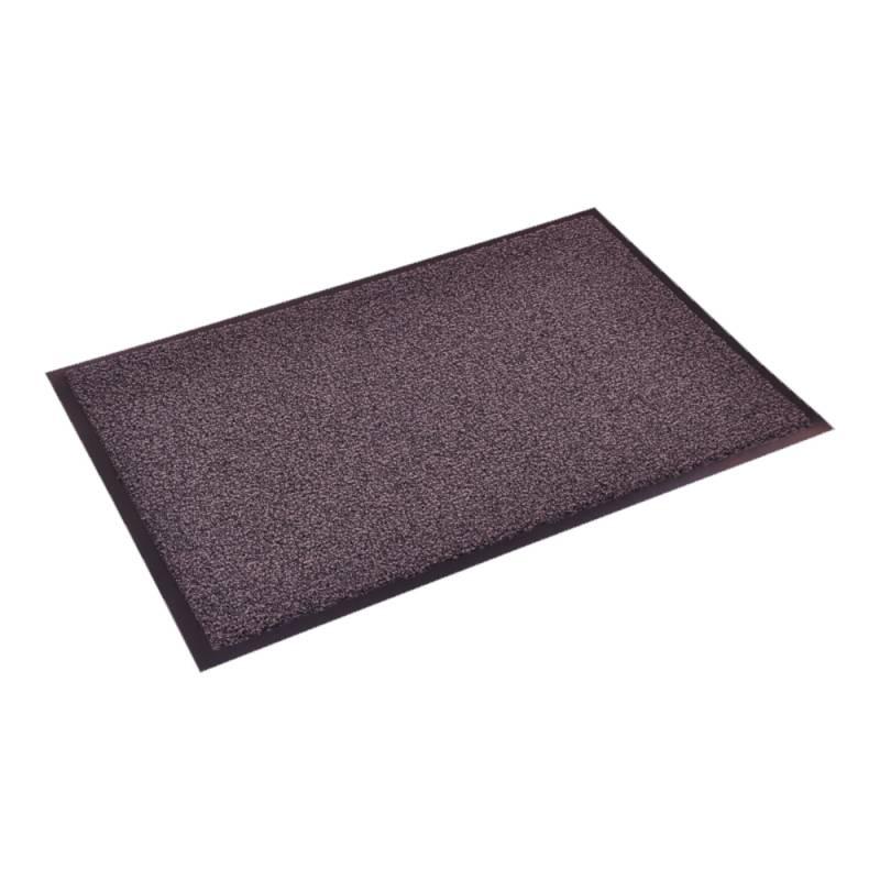 Image of   Tekstilmåtte, 90x60cm, grå, PA/vinyl, absorbering +- 5,2 l/m2 *Denne vare tages ikke retur*