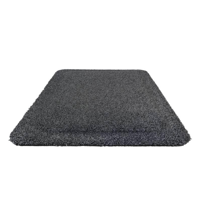 Aflastningsmåtte, Kleen-Komfort Soft, 1,5m x 85cm, grå, med tekstil, kant *Denne vare tages ikke retur*