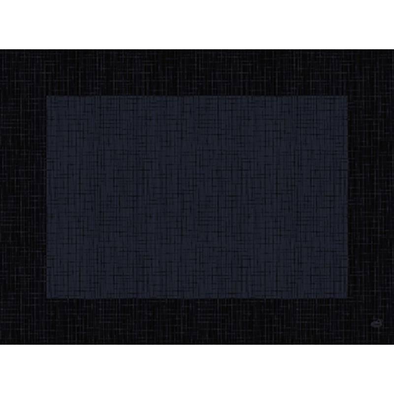 Image of   Dækkeserviet, Dunicel Linnea, 40x30cm, sort *Denne vare tages ikke retur*