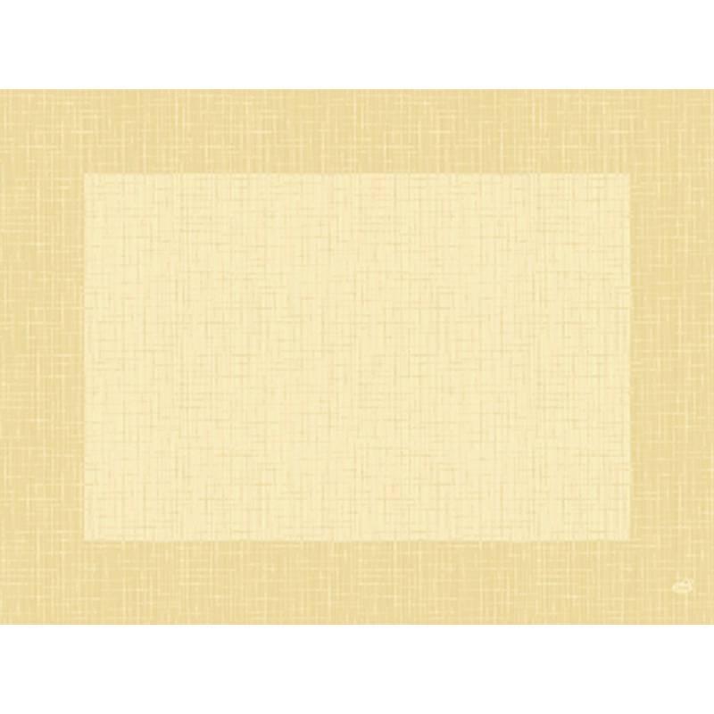 Image of   Dækkeserviet, Dunicel Linnea, 40x30cm, buttermilk *Denne vare tages ikke retur*