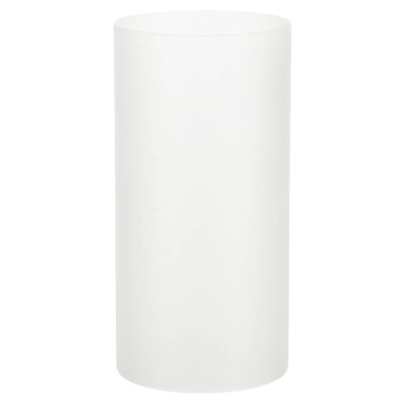 Image of   Basic stage, 14cm, Ø7cm, frosted hvid, glas, til basic bund *Denne vare tages ikke retur*