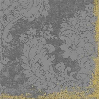 Image of   Middagsserviet, Dunilin Royal, 1/4 fold, 40x40cm, granitgrå *Denne vare tages ikke retur*