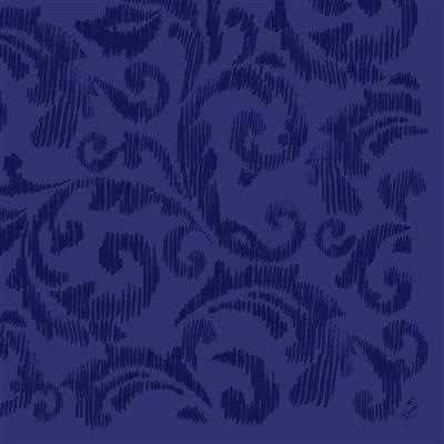 Image of   Middagsserviet, Dunilin Saphira, 1/4 fold, 40x40cm, mørkeblå