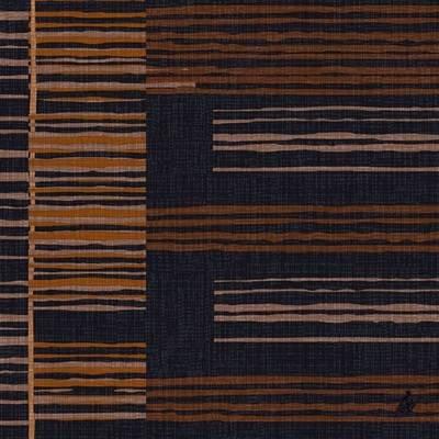 Image of   Middagsserviet, Dunilin Brooklyn, 1/4 fold, 40x40cm, sort *Denne vare tages ikke retur*