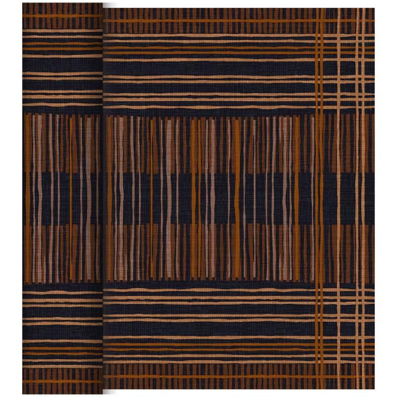 Image of   Kuvertløber, Dunicel Brooklyn, 24x0,4m, sort *Denne vare tages ikke retur*
